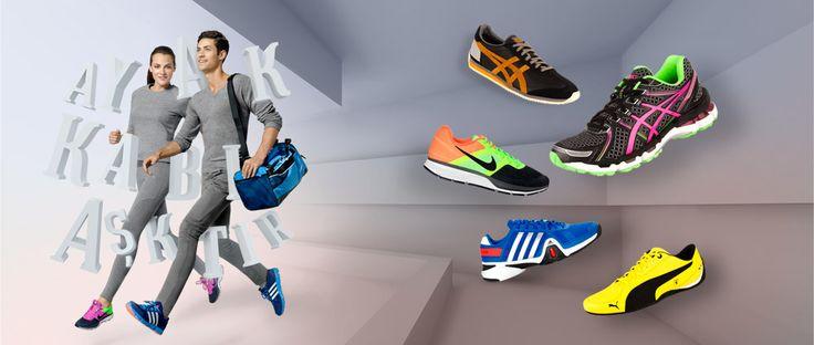 Spor reyonunda %50' ye varan indirim fırsatı kaçmaz!   Daha Fazla Moda Daha Fazla Spor Ayakkabı Dünyası' nda!  :)  https://www.ayakkabidunyasi.com.tr/spor/OrtaKategori/AltKategori/Marka/2620/1?sort=4