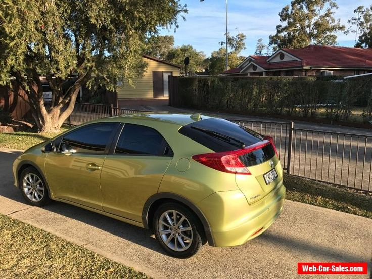 Honda Civic 2013 Hatch #honda #civic #forsale #australia