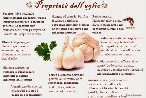 L'aglio è un prodotto naturale dalle numerose proprietà benefiche per il nostro corpo