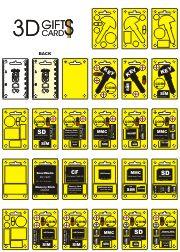 spate 3D Gifts Cards - container, ambalaj pentru produsele ...