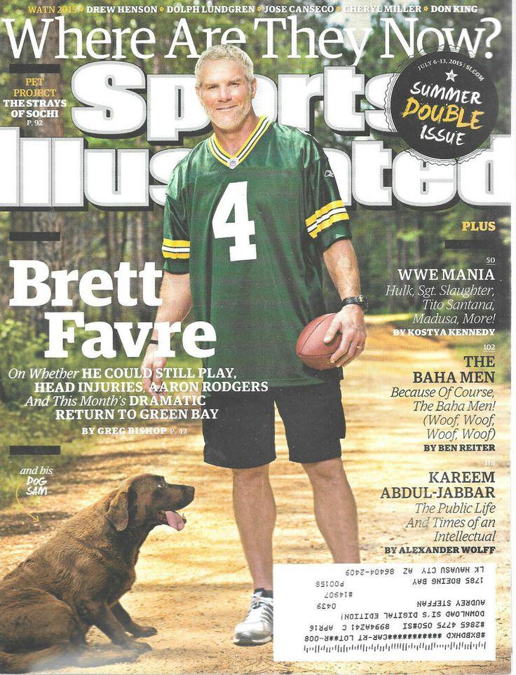 Sports Illustrated Magazine July 613 2015 Brett Favre