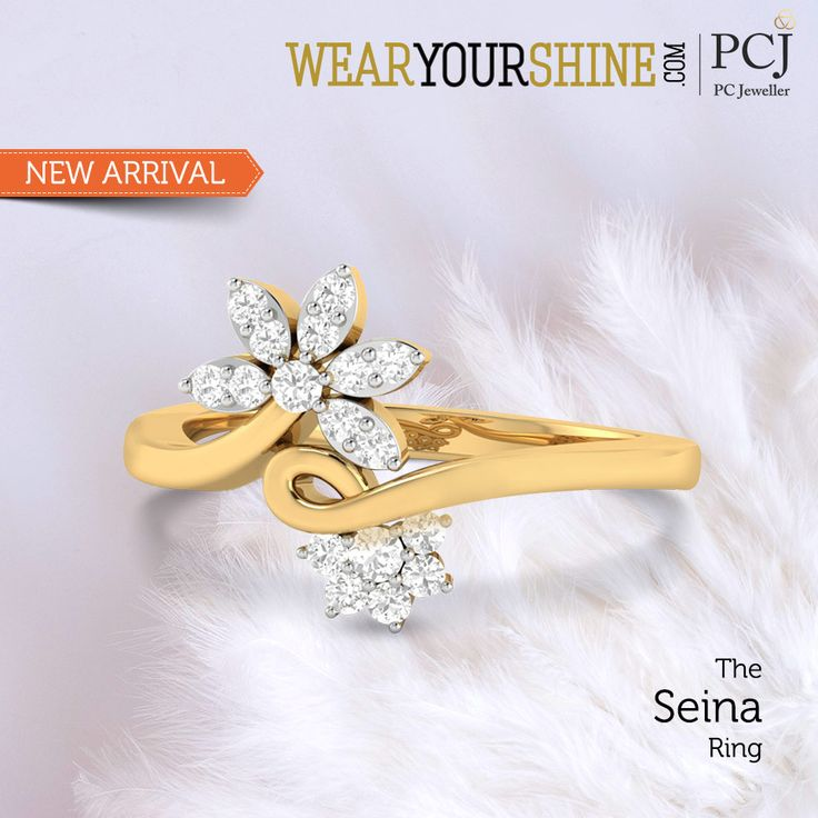 "People will stare; make it worth their while - Harry Winston with ""The Seina Ring"" from WearYourShine.      #WearYourShine #PCJeweller #IndianJewellery #Trends #GiftJewelleryInIndia #Love #Heart #Diamonds #Rings #Trending #Fashion #Contemporary"