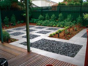 Jardines minimalistas
