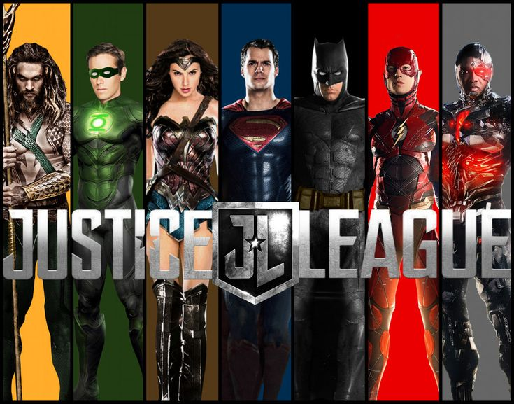 Justice League by Asthonx1