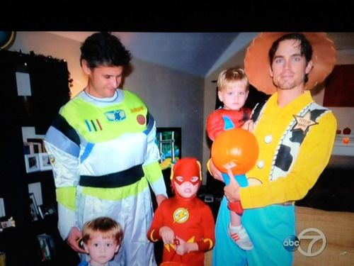 Matt Bomer and family