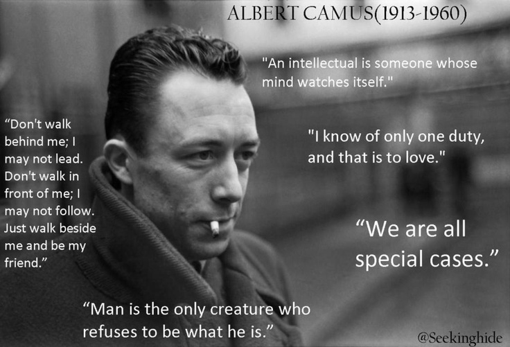 """the philosophy of suicide albert camus This thesis examines the spiritual dimensions of albert camus's """"cycle  question of philosophy  camus claims that suicide is dishonest and a cowardly."""