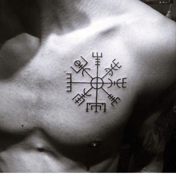 32+ Compas de vegvisir tatouage inspirations