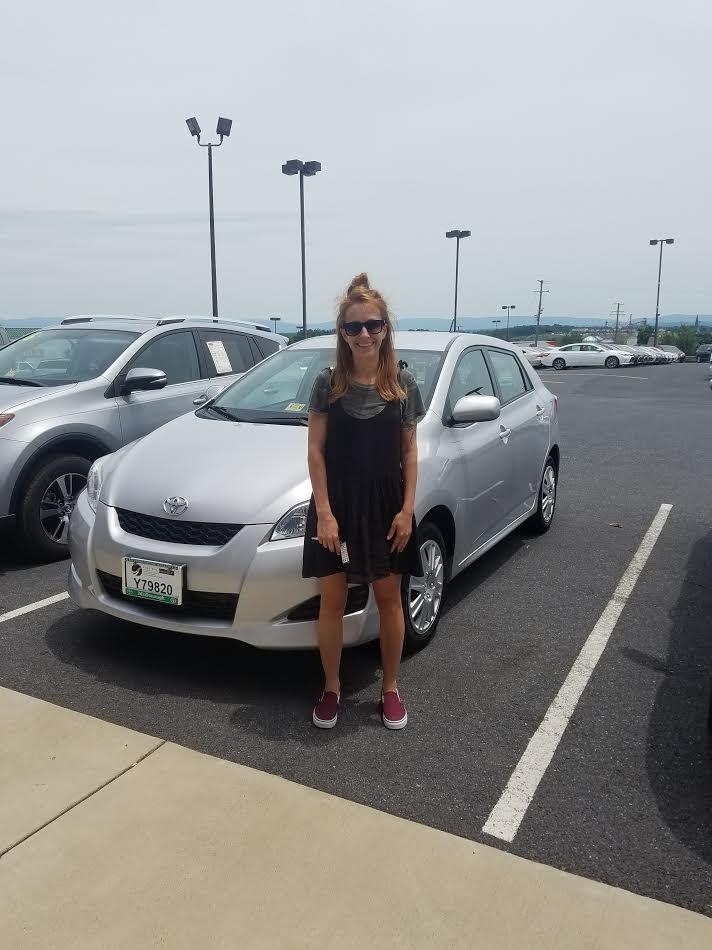 Shanon Kulinski 2011 Toyota Matrix From Durham, NC!! Sales Associate: Becky Long mcdonoughtoyota.com