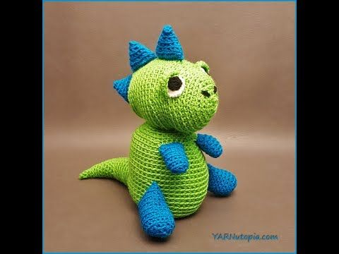 139 besten Crochet Dinosaur Bilder auf Pinterest | Anleitungen ...