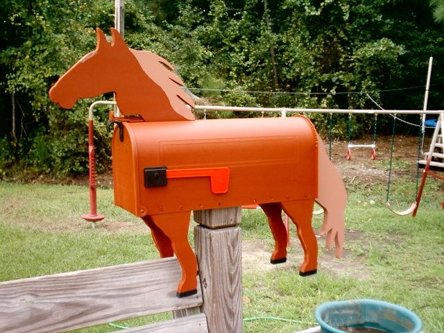 Horse mailboxes, Horse mailbox