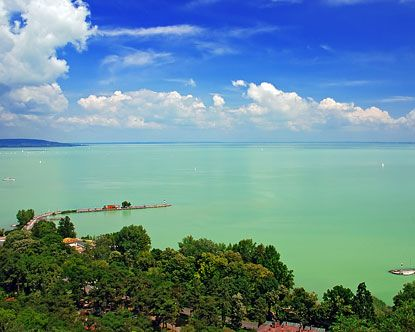 Balaton Lake, Hungary >> So lovely!