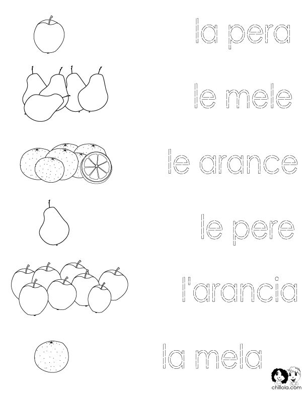 Printables Italian Language Worksheets 1000 images about italian worksheets on pinterest spanish foreign language for kids free printable in french german and english exciting website that i