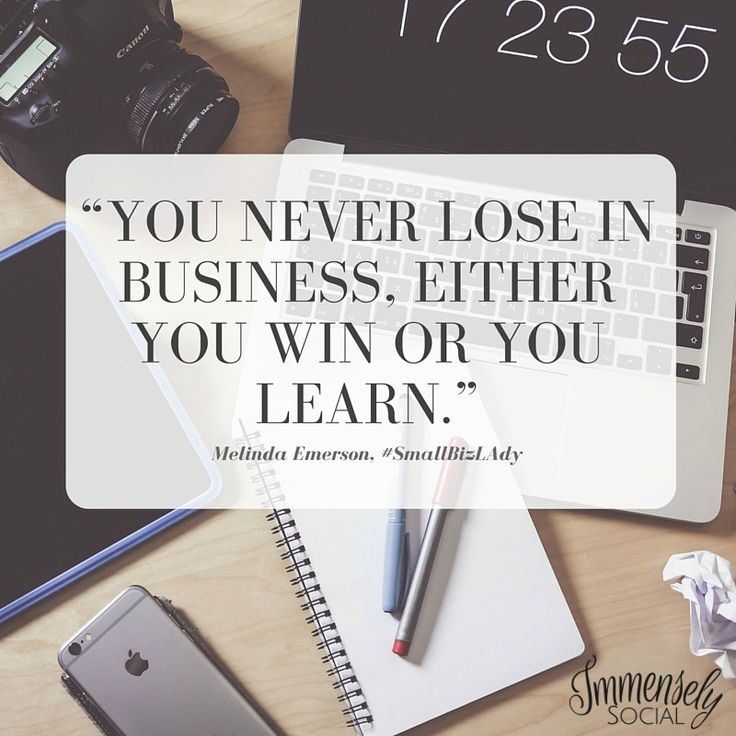 Win or Learn Quote