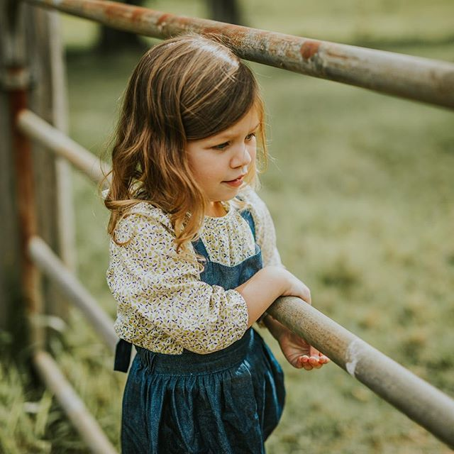 Harriett wears the Liberty blouse by Soor Ploom - available instore now!