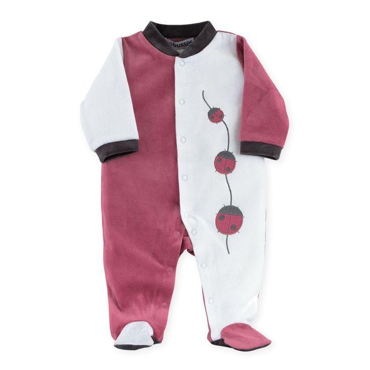 "Pyjama naissance fille ""Coccinelle"""
