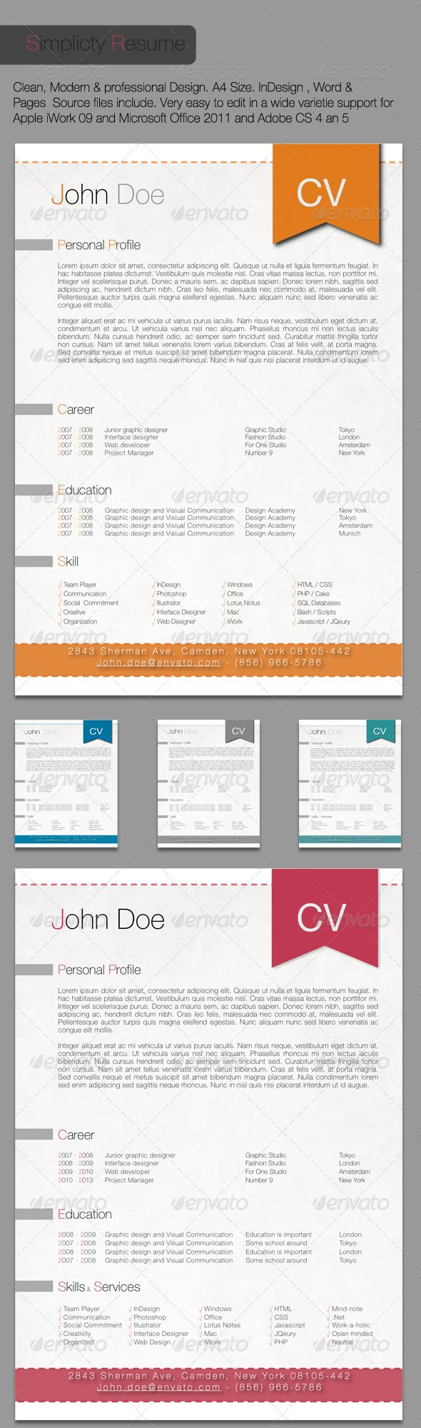 best images about resume inspiration creative simplicity resume