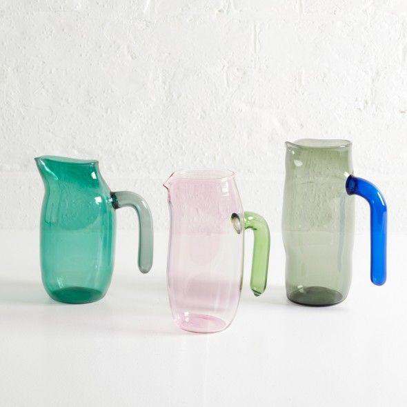 2 Colour Incalmo Jug by Jochen Holz