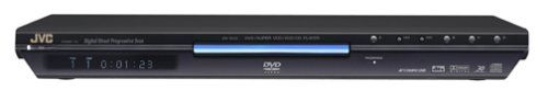 JVC XV-N50BK Slim DVD Player , Black