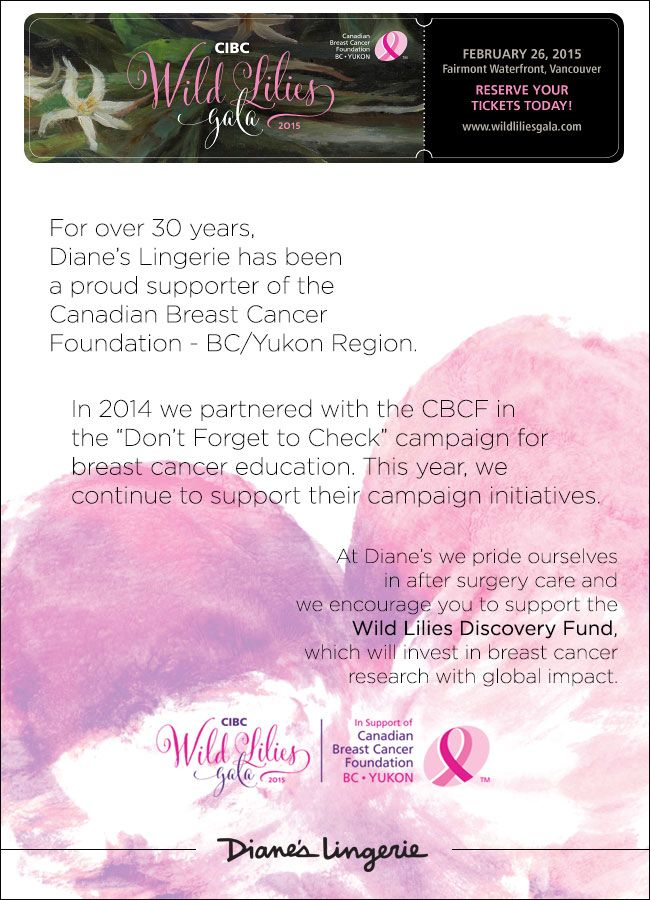 Help support the Canadian Breast Cancer Foundation - BC/Yukon Region! Find out more by clicking image...