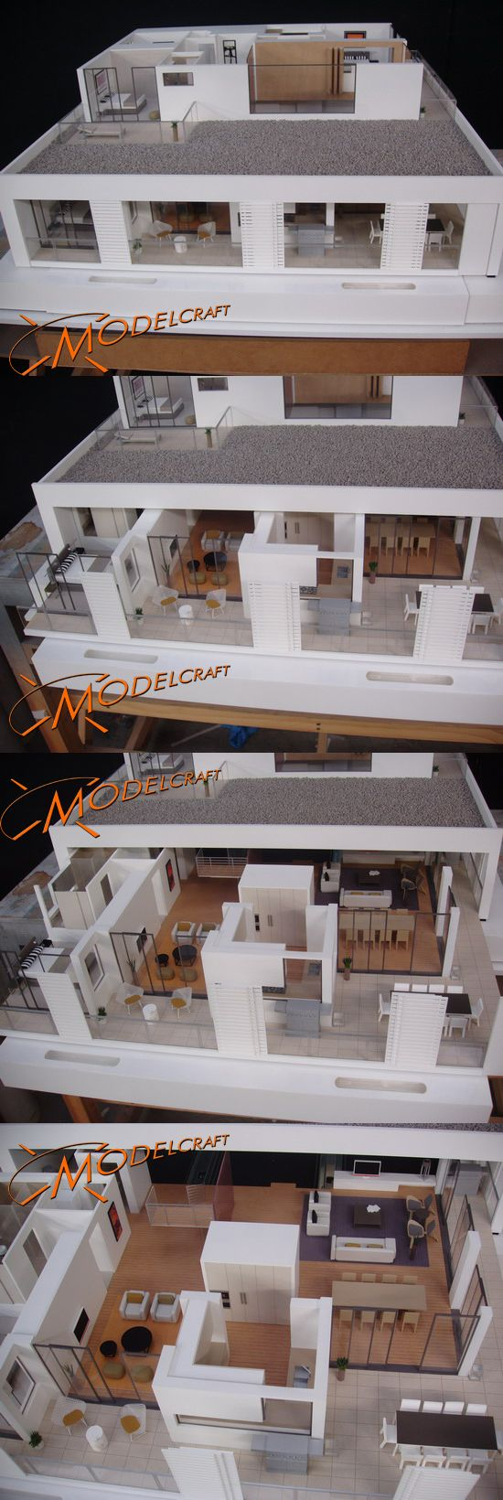 1:30 ANI Interior Apartments. Architectural Model by Modelcraft (NSW) Pty Ltd