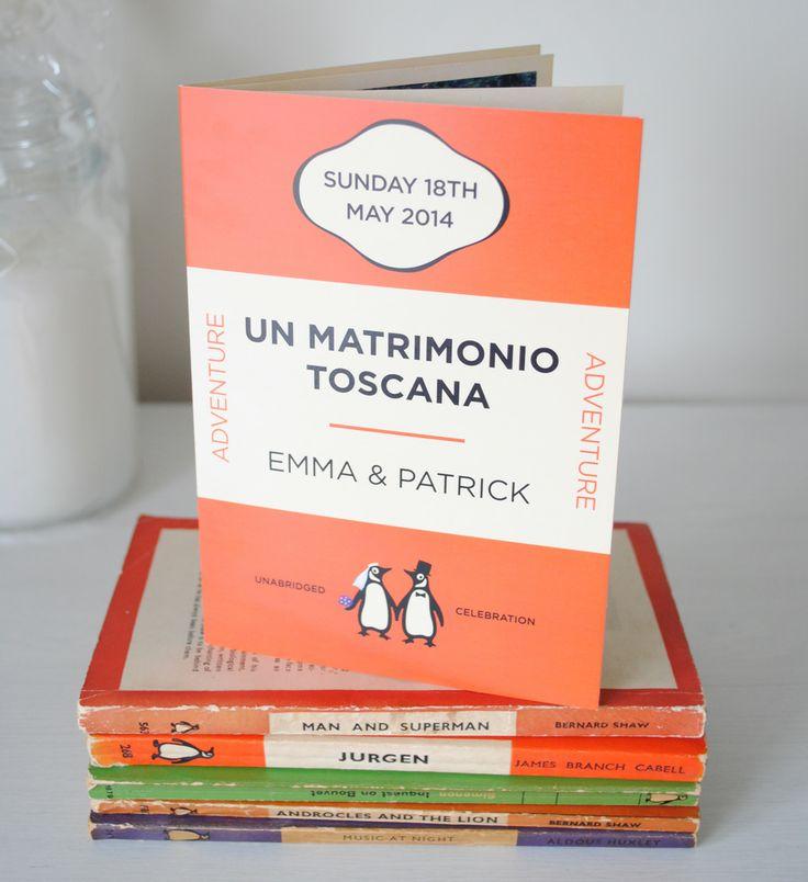 13 best penguin books wedding invitations images on Pinterest Book