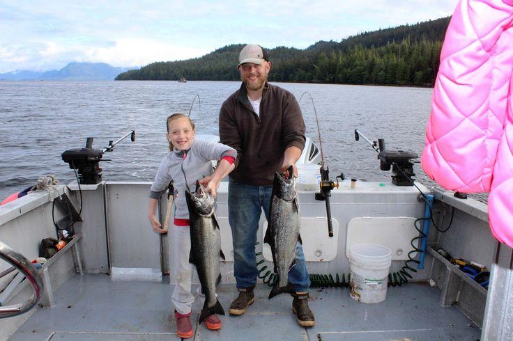 Fishing Charters in Ketchikan, Alaska. Captain Kit Willett on the boat C/V Hunters Hope.