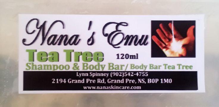 Tea Tree Shampoo & Body Bar... $5 each http://www.nanaskincare.com/