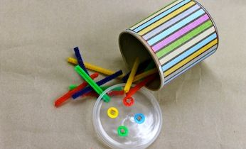 Make A Pipe Cleaner Learning Toy   Activities For Toddlers   Learning Games
