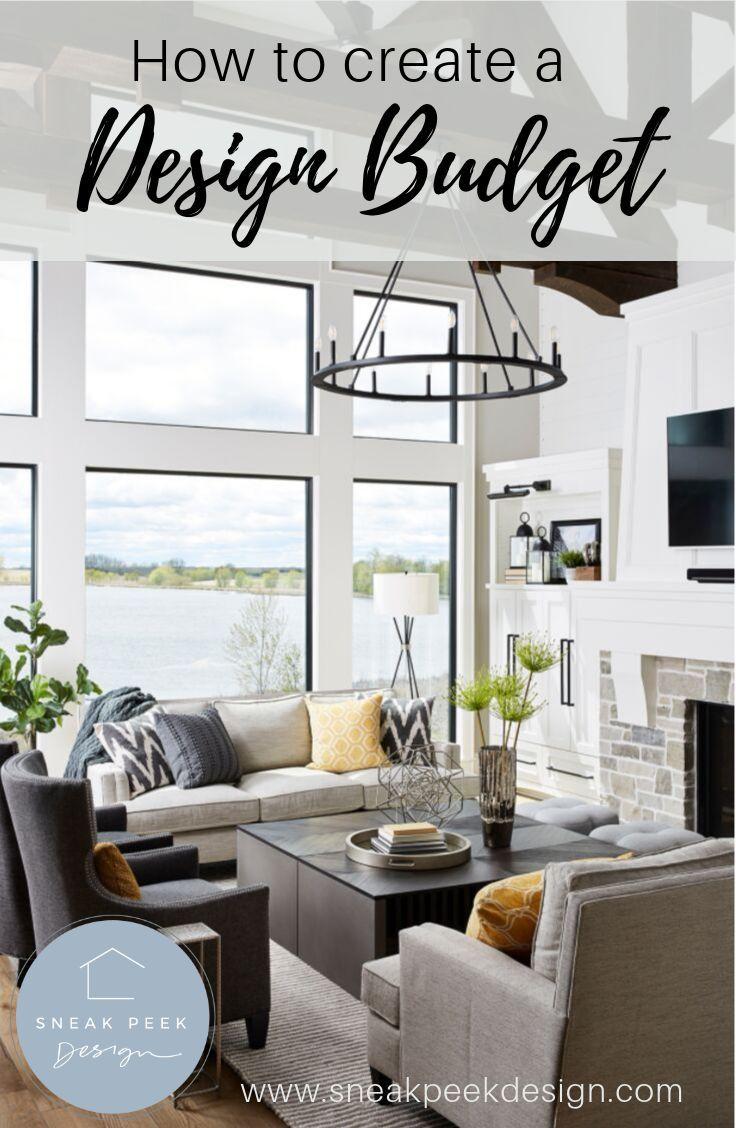 How To Create A Design Budget Carla Bast Design Interior Design Interior Budget Interior Design
