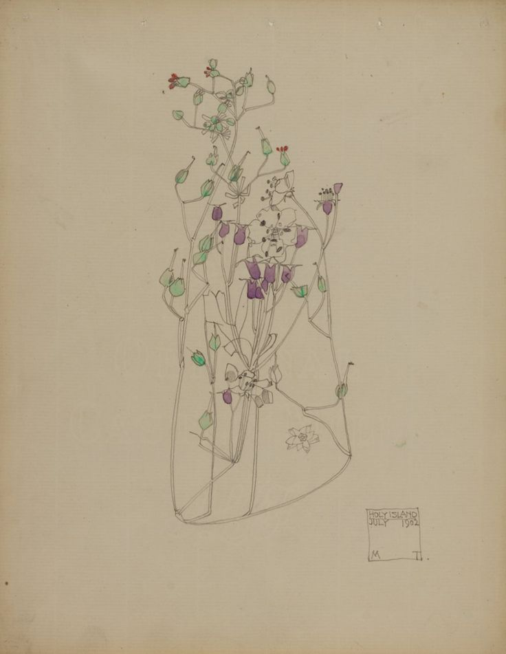 charles rennie mackintosh//holy island//1902