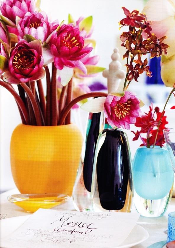 Saskia Havekes for Grandiflora. Dinosaur Designs vases.