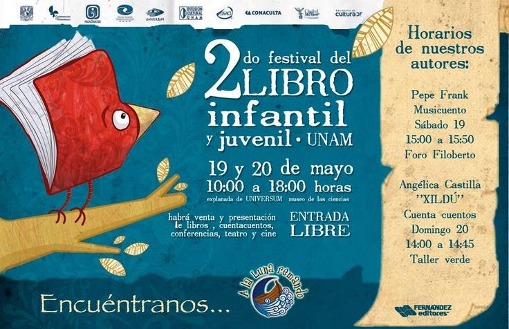 2o. Festival del libro Infantil y Juvenil UNAM
