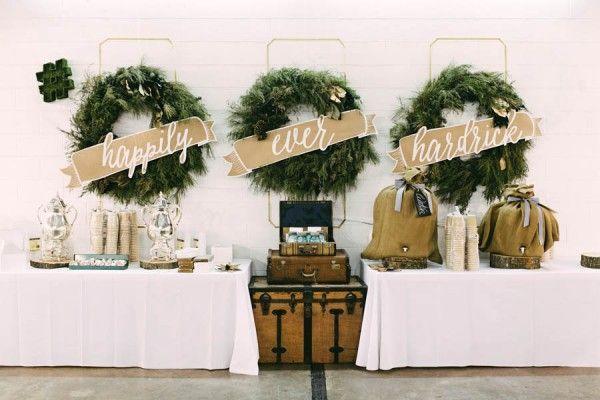 Winter wedding decor inspiration   Kelly Ginn Photography  #goldwedding #winterwedding #reception #weddingreception #winter #weddingdecor #receptiondecor #weddingreceptiondecor