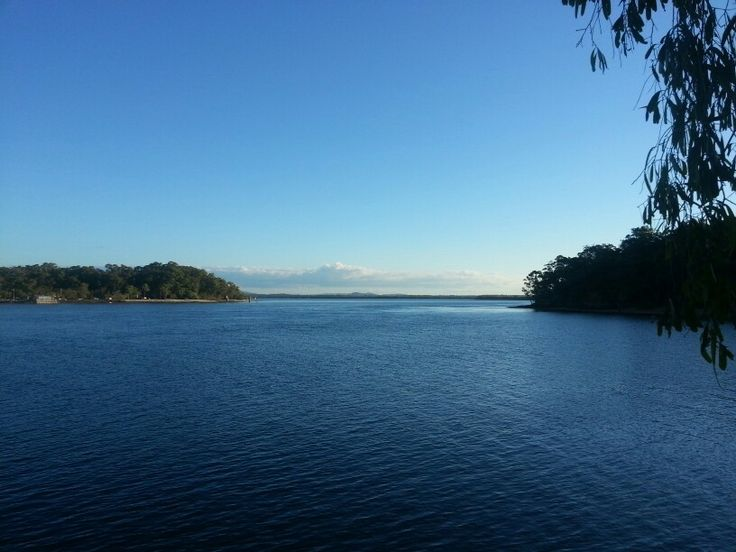View to the mainland from Macleay Island