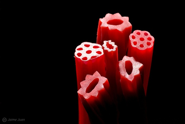 Red Licorice shapes