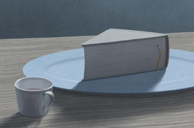 South Korean artist Jungho Lee's illustrations capture the magic of books perfectly.
