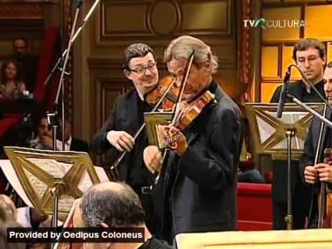 Vivaldi: Giuliano Carmignola at the Enescu Festival | Venice Baroque Orq...