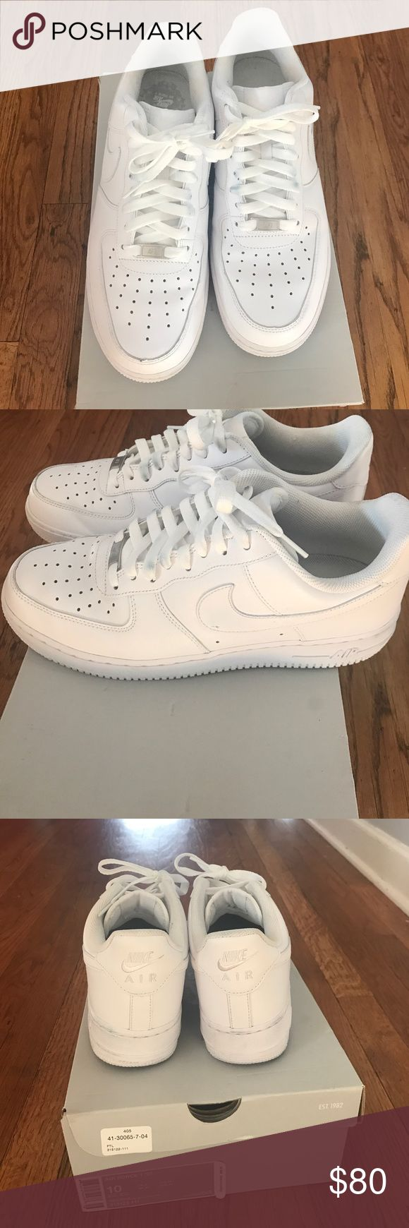 Nike Air Force One Classic Nike Air Force One. Worn only once! Nike Shoes Sneakers