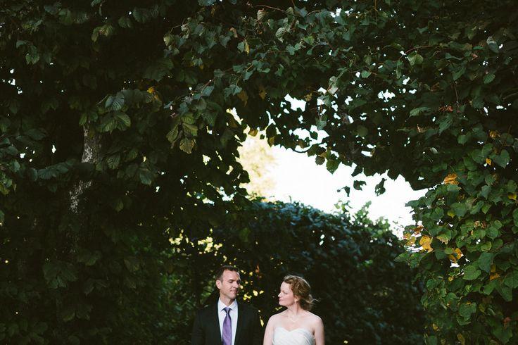 Höstbröllop i Solna Kyrka och middag i Solnadals Värdshus