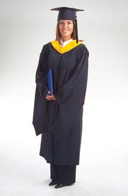 Deluxe Masters Graduation Regalia
