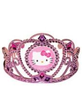 Hello Kitty Metallic Tiara-Tiaras and Headbands-Birthday Party Favors-Birthday Party Supplies- Party City