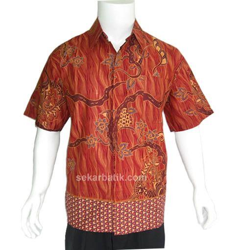 Harga Baju Batik Pria Lusinan: Baju Kemeja Batik Pria Modern