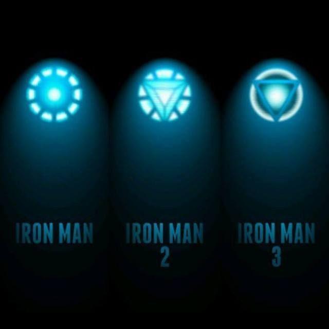 Iron mans arc reactors