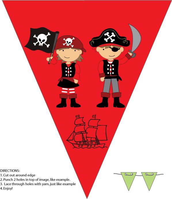 Die besten 25+ Piraten banner Ideen auf Pinterest Party bunting - piratenparty deko kaufen