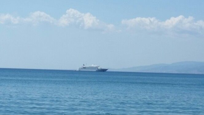 Boat in Roccelletta Sea