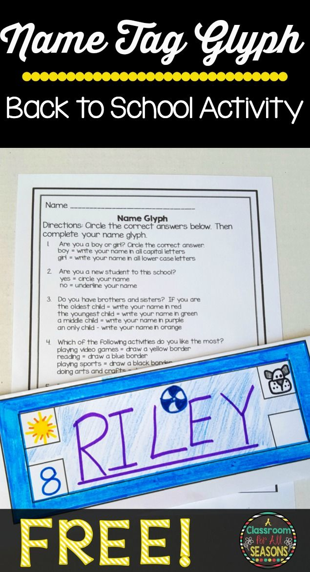 Name and icebreaker Games - Kids Play and Create