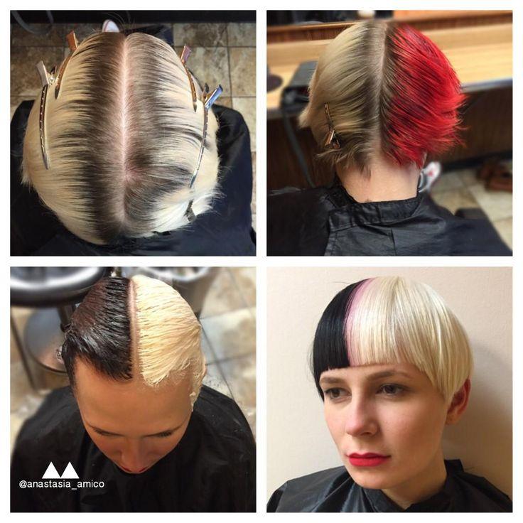 230 best 19141 multi color hair images on pinterest for Bomb hair salon