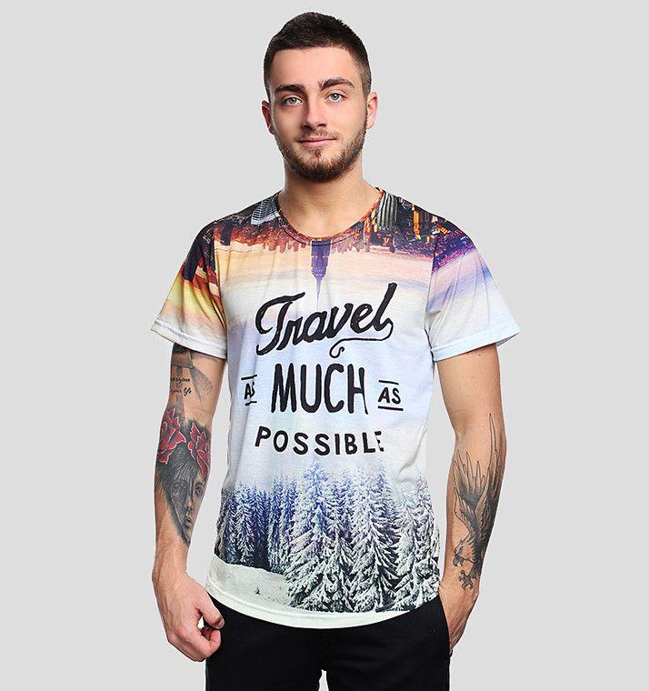 Traveler's T-shirt by Brain Wash Clothing