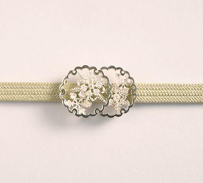 帯留、帯飾りなどの和小物を扱う、根津にあるギャラリーを併設した店舗「花影抄」が運営するWebショップ「和こもの花影抄」