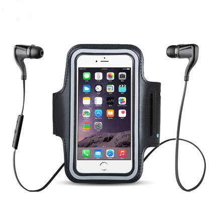 Sport Waterproof Case For Apple Iphone 6 4.7 Inch Luxury Belt Wrist Strap Cover Phone Bags For iPhone Case On 6S With Key Holder